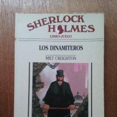 Libros de segunda mano: LOS DINAMITEROS, SHERLOCK HOLMES 5, TIMUN MAS, 1989. Lote 194217647