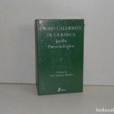 Libros de segunda mano: PEDRO CALDERÓN DE LA BARCA, JARDÍN PAREMIOLÓGICO - EDHASA AFORISMOS - PRECINTADO / PERFECTO. Lote 194221180