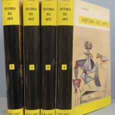 Libros de segunda mano: HISTORIA DEL ARTE. PIJOAN. 4 TOMOS. Lote 194222918