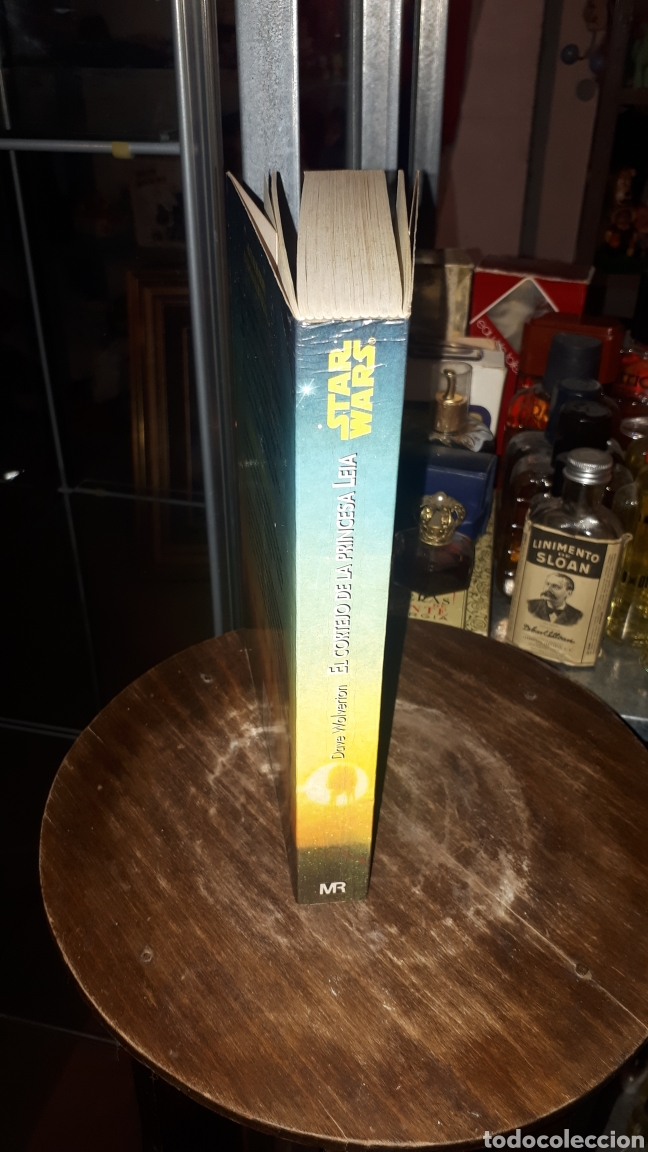 Libros de segunda mano: LIBRO LA GUERRA DE LAS GALAXIAS STAR WARS EL CORTEJO DE LA PRINCESA LEIA DAVE WOLVERTON 1994 - Foto 2 - 194223930