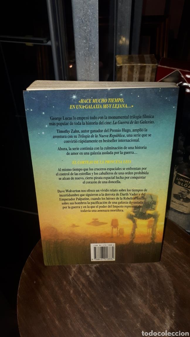 Libros de segunda mano: LIBRO LA GUERRA DE LAS GALAXIAS STAR WARS EL CORTEJO DE LA PRINCESA LEIA DAVE WOLVERTON 1994 - Foto 3 - 194223930