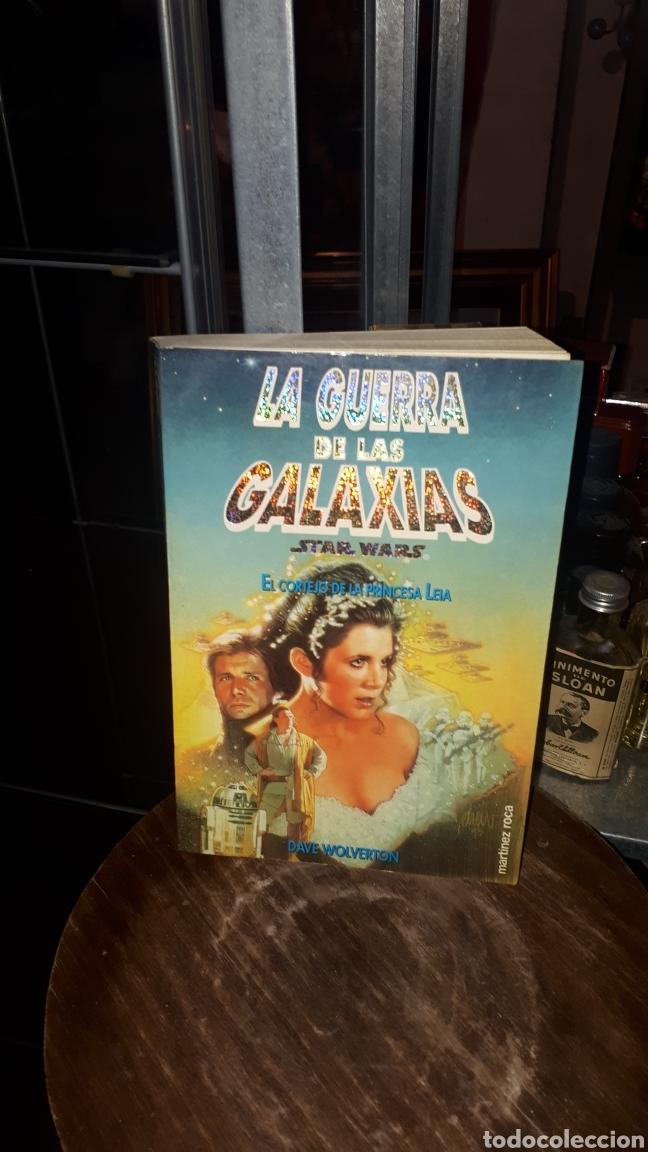 LIBRO LA GUERRA DE LAS GALAXIAS STAR WARS EL CORTEJO DE LA PRINCESA LEIA DAVE WOLVERTON 1994 (Libros de Segunda Mano - Literatura Infantil y Juvenil - Otros)
