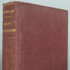 Libros de segunda mano: 1939.- CASTA HIDALGOS. RICARDO LEON. Lote 194225668