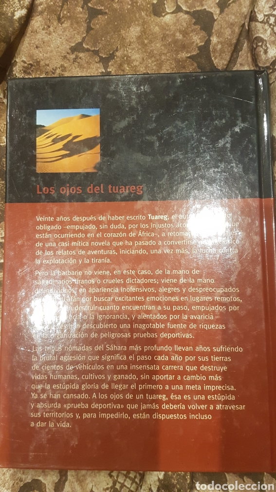 Libros de segunda mano: Libro los ojos del tuareg - Foto 2 - 194226053