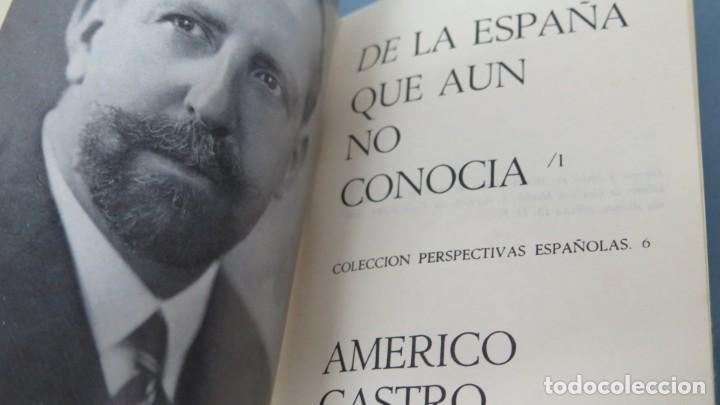 Libros de segunda mano: DE LA ESPAÑA QUE AUN NO CONOCIA. AMERICO CASTRO. 3 TOMOS - Foto 2 - 194227588