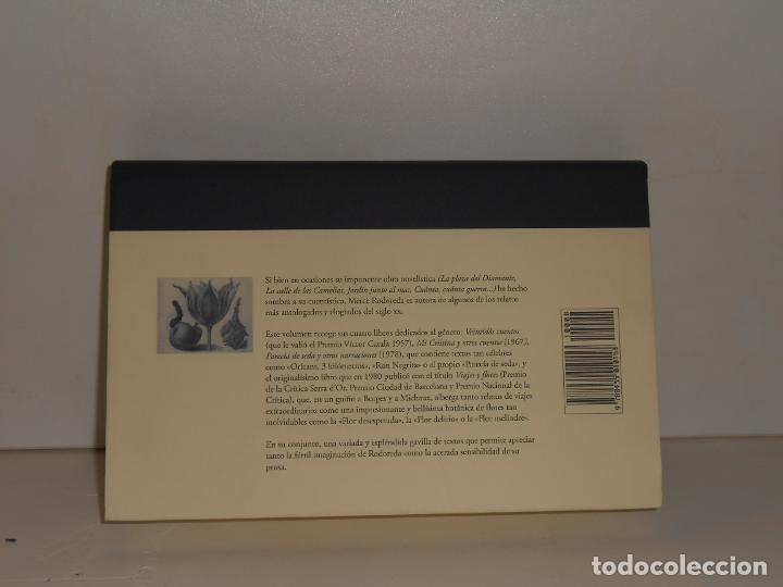 Libros de segunda mano: MERCÈ RODOREDA, CUENTOS - CUENTOS EDHASA, 2008 1ª EDICIÓN - EXCELENTE ESTADO - Foto 2 - 194228071