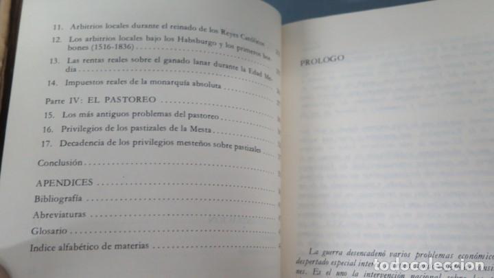 Libros de segunda mano: LA MESTA. JULIUS KLEIN - Foto 3 - 194228958