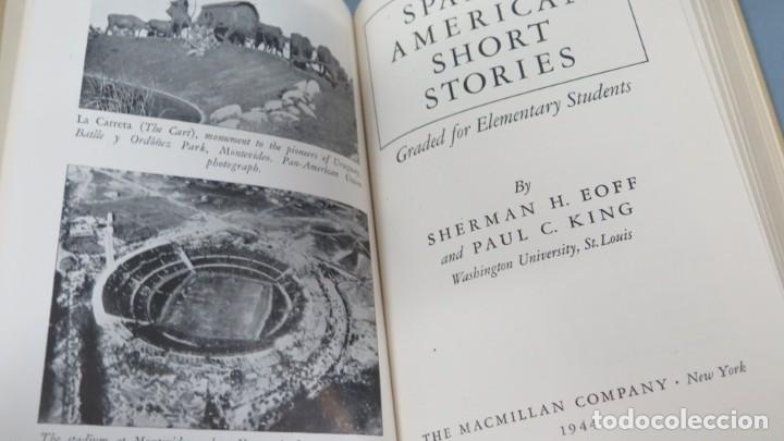 Libros de segunda mano: 1944.- SPANISH AMERICAN SHORT STORIES - Foto 2 - 194231853