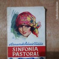 Libros de segunda mano: SINFONÍA PASTORAL. ARMANDO PALACIO VALDÉS. LA NOVELA ROSA.. Lote 194233366