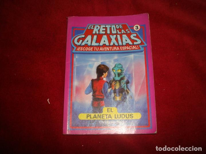 EL RETO DE LAS GALAXIAS Nº 3 EL PLANETA LUDUS (Libros de Segunda Mano - Literatura Infantil y Juvenil - Otros)