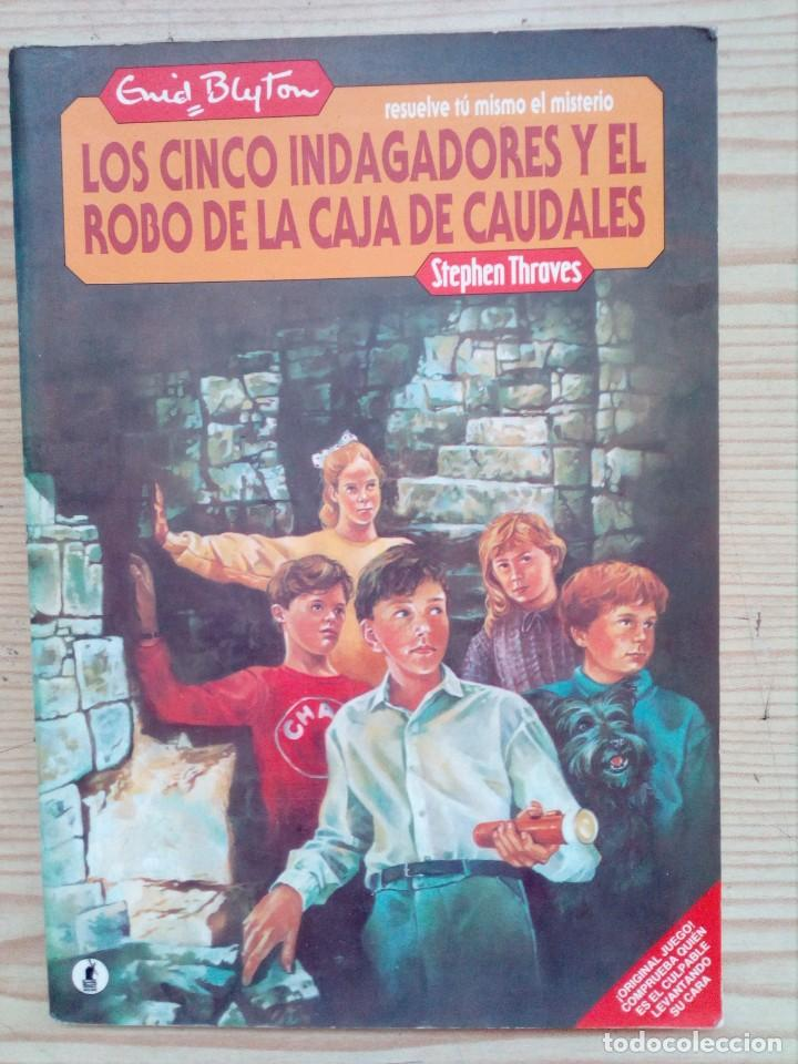 RESUELVE TU MISMO EL MISTERIO - LOS CINCO INDAGADORES Y EL ROBO DE LAS CAJA DE CAUDALES - MOLINO 198 (Libros de Segunda Mano - Literatura Infantil y Juvenil - Otros)