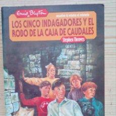 Libros de segunda mano: RESUELVE TU MISMO EL MISTERIO - LOS CINCO INDAGADORES Y EL ROBO DE LAS CAJA DE CAUDALES - MOLINO 198. Lote 194234925
