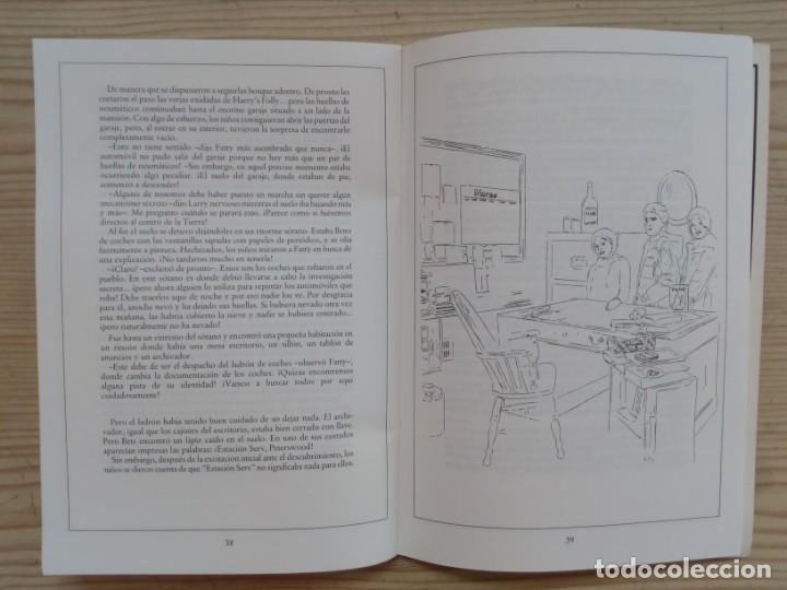 Libros de segunda mano: Resuelve Tu Mismo El Misterio - Los Cinco Indagadores Y El Robo De Las Caja De Caudales - Molino 198 - Foto 4 - 194234925