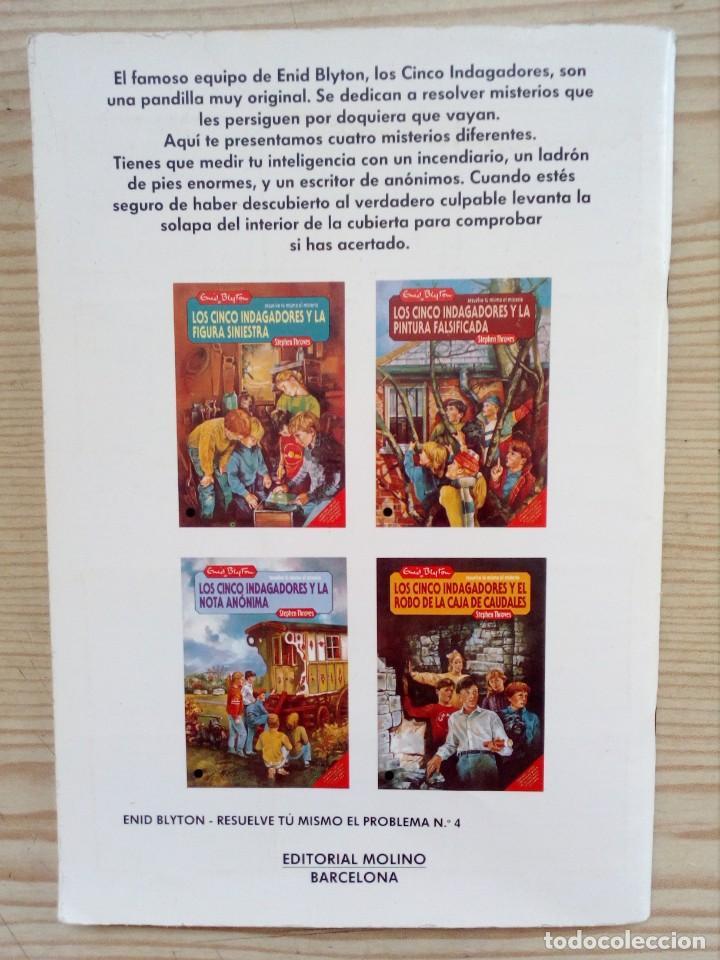 Libros de segunda mano: Resuelve Tu Mismo El Misterio - Los Cinco Indagadores Y El Robo De Las Caja De Caudales - Molino 198 - Foto 5 - 194234925