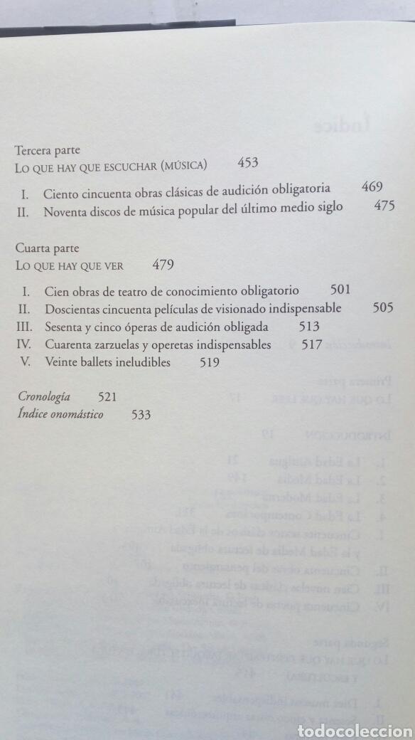 Libros de segunda mano: El camino hacia la cultura. César Vidal. - Foto 4 - 194236462