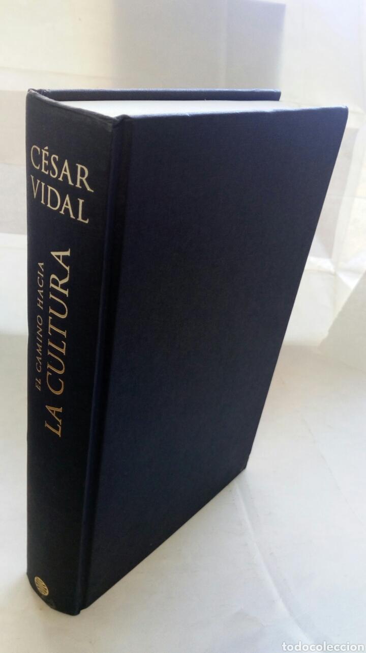 Libros de segunda mano: El camino hacia la cultura. César Vidal. - Foto 6 - 194236462