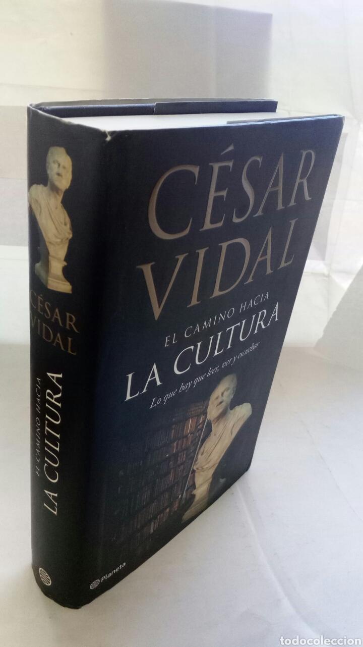 Libros de segunda mano: El camino hacia la cultura. César Vidal. - Foto 7 - 194236462