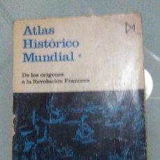 Libros de segunda mano: HERMANN KINDER, WERNER HILGEMANN - ATLAS HISTORICO MUNDIAL I - ITSMO - 1980. Lote 194243087