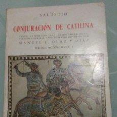 Libros de segunda mano: SALUSTIO - CONJURACION DE CATILINA . GREDOS BILIGÜE . 1979. Lote 194243417