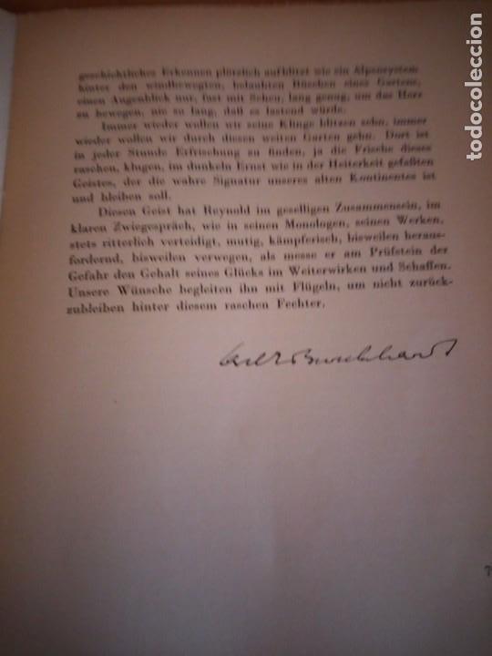 Libros de segunda mano: hommage a gonzague de reynold,fribourg 1941 - Foto 9 - 194246136