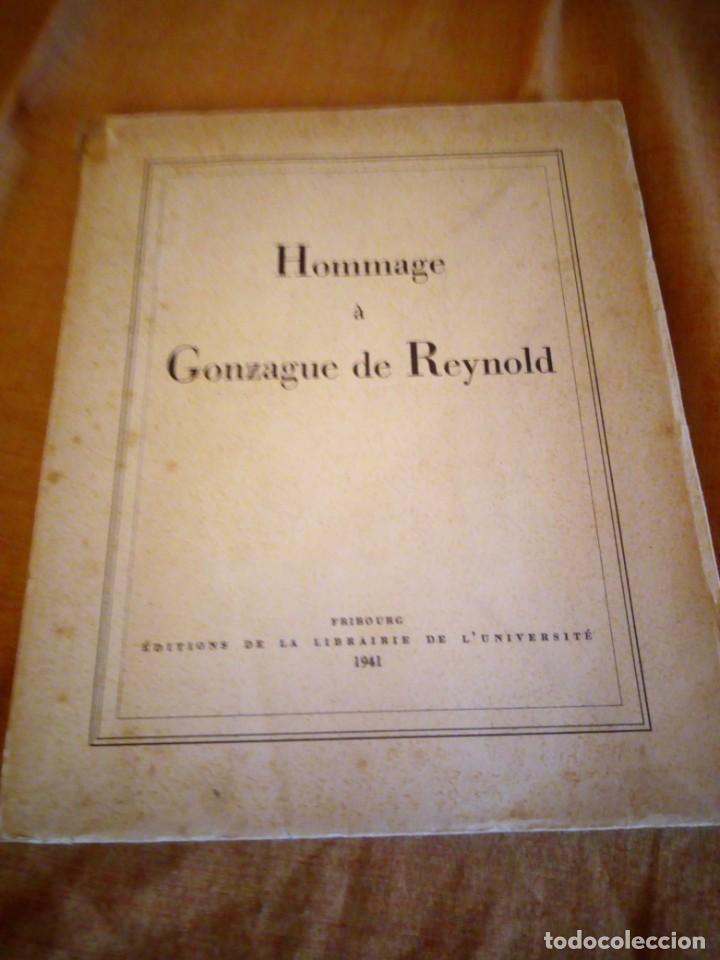 Libros de segunda mano: hommage a gonzague de reynold,fribourg 1941 - Foto 3 - 194246136