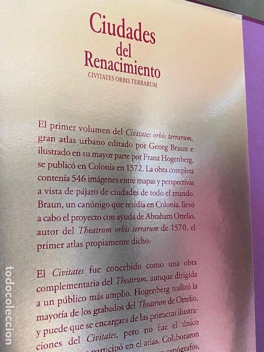 Libros de segunda mano: CIUDADES DEL RENACIMIENTO. CIVITATES ORBIS TERRARUM. H.F ULLMANN. NUEVO - Foto 3 - 194246623