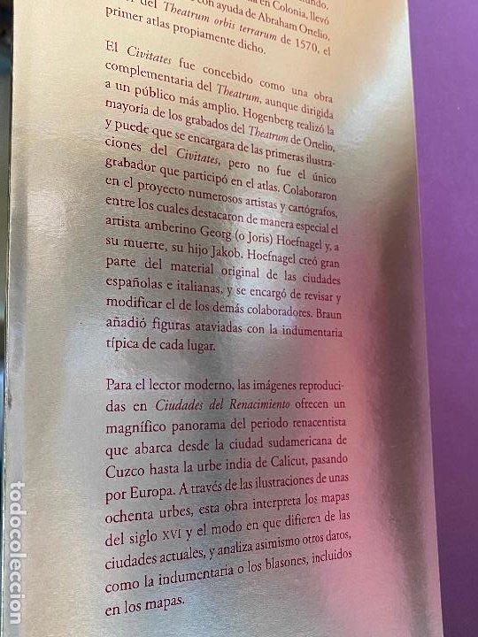 Libros de segunda mano: CIUDADES DEL RENACIMIENTO. CIVITATES ORBIS TERRARUM. H.F ULLMANN. NUEVO - Foto 4 - 194246623