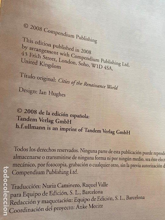 Libros de segunda mano: CIUDADES DEL RENACIMIENTO. CIVITATES ORBIS TERRARUM. H.F ULLMANN. NUEVO - Foto 9 - 194246623