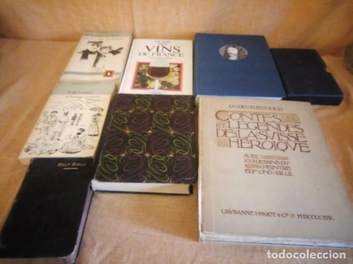 LOTE DE 8 LIBROS VARIADOS,LOUIS XIII,HOLY BIBLE,THE GOLDEN TREASURY LYRICAL POEMS,FORTUNE,ETC (Libros de Segunda Mano - Ciencias, Manuales y Oficios - Otros)