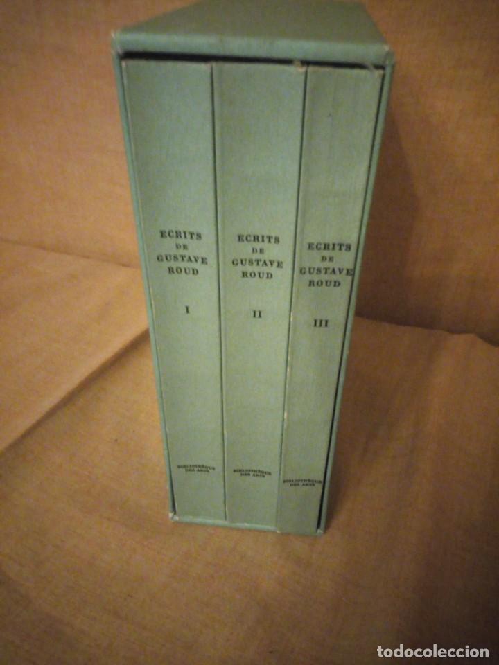 ECRITS DE GUSTAVE ROUD,3 TOMOS,1978,FRANCES (Libros de Segunda Mano - Bellas artes, ocio y coleccionismo - Otros)