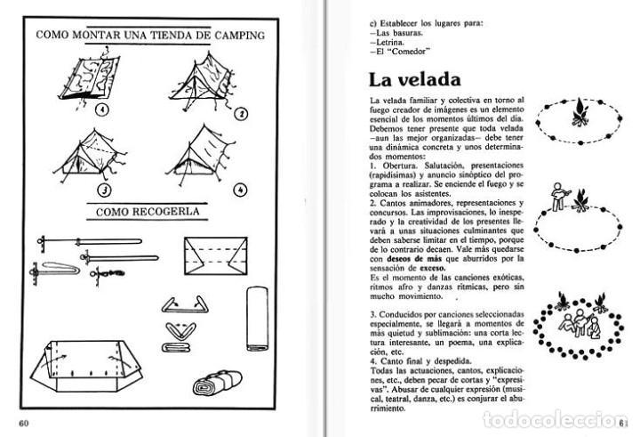 Libros de segunda mano: JUEGOS. PARA UN DIA DE CAMPO. PARA EL CAMPING. AL AIRE LIBRE. PARA UN FIN DE SEMANA. ILUSTRADO. - Foto 2 - 194248828