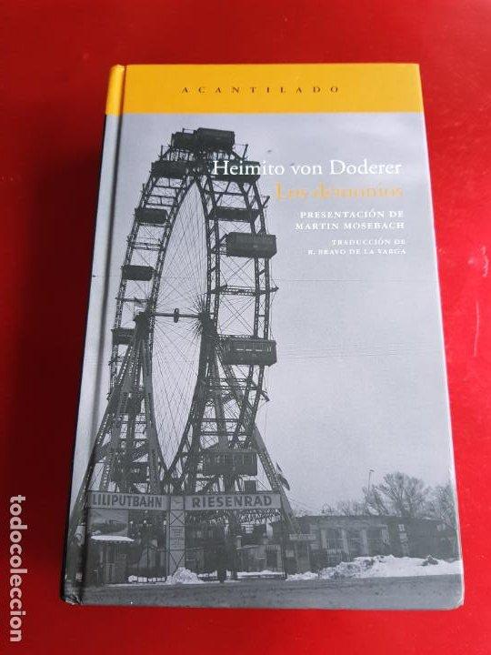 LIBRO-LOS DEMONIOS-HEIMITO VON DODERER-ACANTILADO-2009-NUEVO-VER FOTOS (Libros de Segunda Mano - Pensamiento - Otros)
