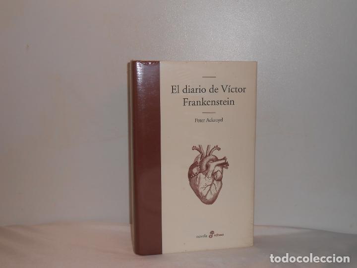 PETER ACKROYD, EL DIARIO DE VÍCTOR FRANKESTEIN - EDHASA, PRECINTADO, PERFECTO (Libros de Segunda Mano (posteriores a 1936) - Literatura - Otros)