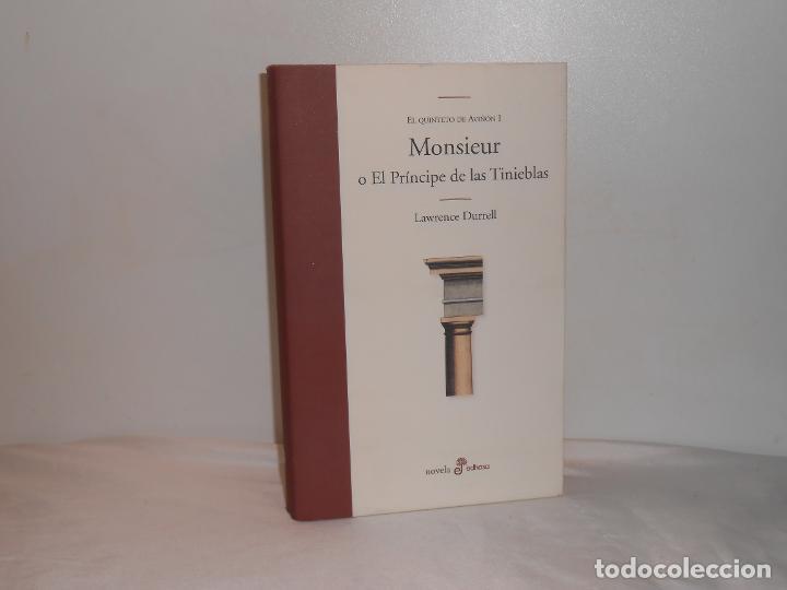 MONSIEUR O EL PRÍNCIPE DE LAS TINIEBLAS / EL QUINTETO DE AVIÑÓN (I), LAWRENCE DURRELL - MUY BUEN EST (Libros de Segunda Mano (posteriores a 1936) - Literatura - Otros)