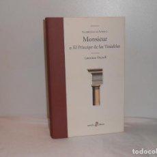 Libros de segunda mano: MONSIEUR O EL PRÍNCIPE DE LAS TINIEBLAS / EL QUINTETO DE AVIÑÓN (I), LAWRENCE DURRELL - MUY BUEN EST. Lote 194252930