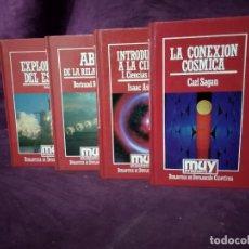 Libros de segunda mano: LOTE DE UNAS 4 LIBROS DE TEMAS ESOTÉRICOS O ESPACIALES, MUY INTERESANTE, ORBIS, 1980´S, BARCELONA. Lote 194262395