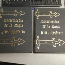 Libros de segunda mano: ENCICLOPEDIA DE LA MAGIA Y DEL MISTERIO / 2 TOMOS / EDITORIAL MATEU 1975. Lote 194266451