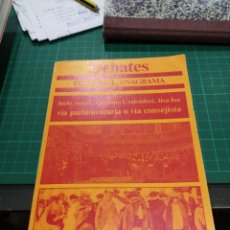 Libros de segunda mano: LUCIO MAGRI MASSIMO L. SALVATORI LISA FOA VIA PARLAMENTARIA O VIA CONSEJISTA. Lote 194272186