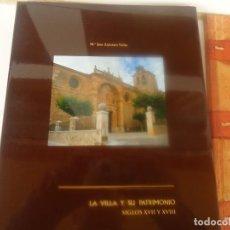 Libros de segunda mano: FUENTELCESPED LA VILLA Y SU PATRIMONIO. Lote 194279537