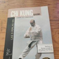 Libros de segunda mano: LAS 9 PERLAS DE CHI KUNG (QUIGONG) / SEBASTIÁN GONZÁLEZ / EDITORIAL ALAS 1996. Lote 194284443