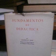 Libros de segunda mano: FUNDAMENTOS DE DIDACTICA, FERNAND KOPP. Lote 194287678