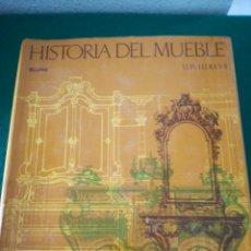 Libros de segunda mano: HISTORIA DEL MUEBLE DE LUIS FEDUCHI. Lote 194291880
