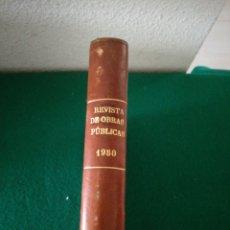 Libros de segunda mano: REVISTA OBRA PUBLICA 1950 TOMO I. Lote 194294526