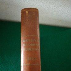 Libros de segunda mano: REVISTA OBRA PUBLICA 1954 TOMO I. Lote 194294678