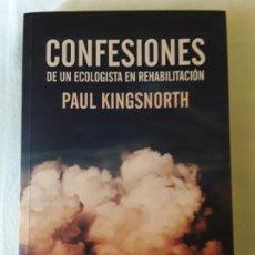 Libros de segunda mano: PAUL KINGSNORTH - CONFESIONES DE UN ECOLOGISTA EN REHABILITACIÓN (ERRATA NATURAE, 2019). Lote 194295216