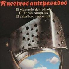 Libros de segunda mano: NUESTROS ANTEPASADOS. ITALO CALVINO. ALIANZA TRES. Lote 194300313