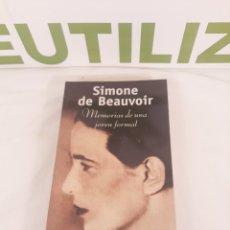 Libros de segunda mano: SIMONE DE BEAUVOIR.POCKET EDHASA.. Lote 194323840