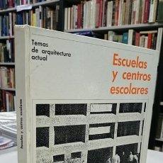 Libros de segunda mano: ESCUELAS Y CENTROS ESCOLARES. - PETERS, PAULHANS.. Lote 194325601