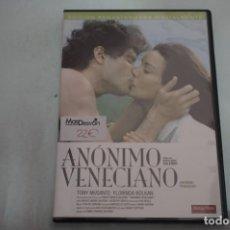 Libros de segunda mano: (2B-0) - 1 X DVD / ANONIMO VENECIANO - TONY MUSANTE, FLORINDA BOLKAN / ENRICO MARIA SALERNO. Lote 194326400