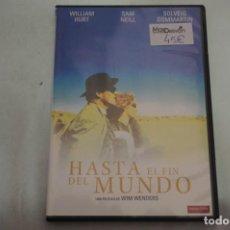 Libros de segunda mano: (2B-0) - 1 X DVD / HASTA EL FIN DEL MUNDO - WILLIAM HURT, SAM NEILL / WIM WENDERS. Lote 194326470